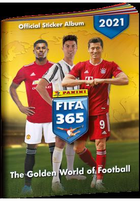 Альбом для коллекционирования наклеек FIFA 365-2021