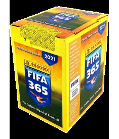 Наклейки коллекционные в боксе FIFA 365 - 2021 (50..