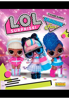 Альбом для коллекционирования наклеек L.O.L. Surprise Fasfion Fun