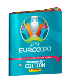 Альбом для коллекционирования наклеек EURO 2020..