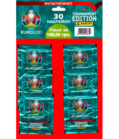 Мультипакет наклеек EURO 2020 (6 пакетиков)..