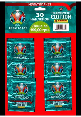 Мультипакет наклеек EURO 2020 (6 пакетиков)