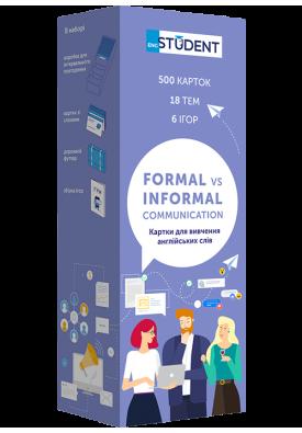 Formal vs Informal Comunication. Формальное и неформальное общение