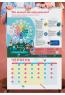 Розумний настінний календар на 2021 рік «Чого не вчать у школі»
