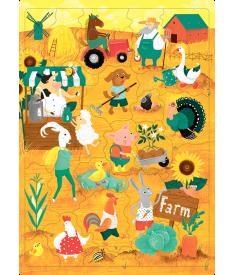 Пазл «Ферма» (30 слов)..
