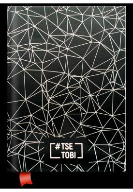 """Блокнот/щоденник """"Tse Tobi"""" (чорний)"""
