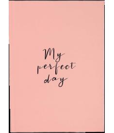 """Щоденник """"My perfect day"""" (персиковий)"""