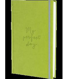 "Блокнот ""My perfect day"" (оливковый).."