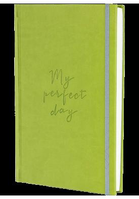"""Блокнот """"My perfect day"""" (оливковий)"""