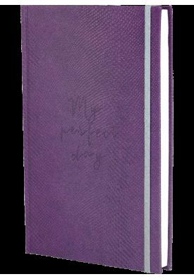 "Блокнот ""My perfect day"" (фиолетовый питон)"