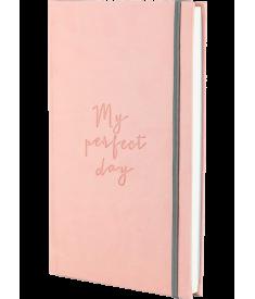 """Блокнот """"My perfect day"""" (нежно-розовый).."""