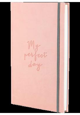 """Блокнот """"My perfect day"""" (ніжно-рожевий)"""
