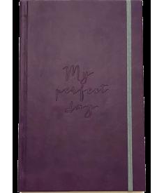 "Блокнот ""My perfect day"" (фиолетовый).."