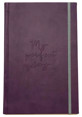 "Блокнот ""My perfect day"" (фиолетовый)"